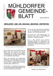Gemeindeblatt Mai 2005 (0 bytes) - Marktgemeinde Mühldorf in der ...