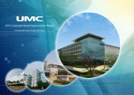 2012 Corporate Social Responsibility Report - UMC