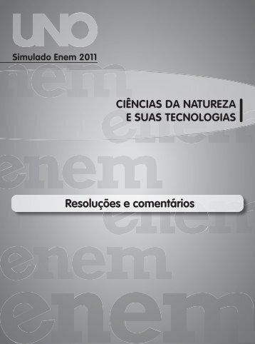 Gabarito Ciências Natureza
