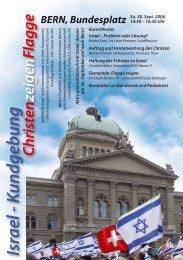Israel - Kundgebung - Forum für Israel
