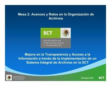 Mejora en la transparencia y acceso a la información a través de la ...