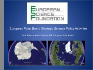 European Polar Framework - Arctic Forum Foundation