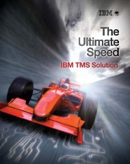 The Ultimate Speed The Ultimate Speed The Ultimate Speed ... - IBM