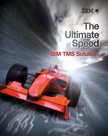 The Ultimate Speed The Ultimate Speed The Ultimate Speed ... - IBM