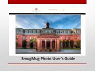SmugMug Photo User's Guide