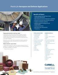 Aerospace and Defense Applications Line Card - Curbellplastics.com