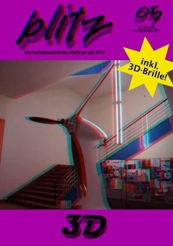 inkl. 3D-Brille! - amiv blitz - ETH Zürich