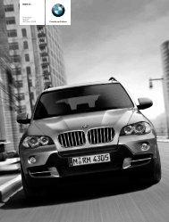 Preisliste (2008) BMW X5 - bmwarchiv.de