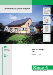 Instalacijski pribor i razdjelnici