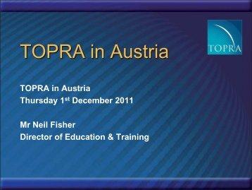TOPRA in Austria