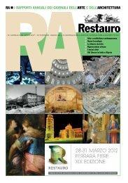 318 RA restauro - Il Giornale dell'Architettura