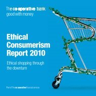 Ethical Consumerism Report 2010 - We are good with money ...