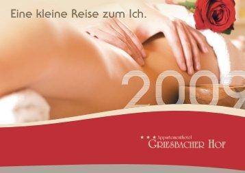 Arrangements - Griesbacher Hof