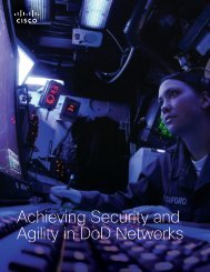 Achieving Security and Agility in DoD Networks - Digital Government ...