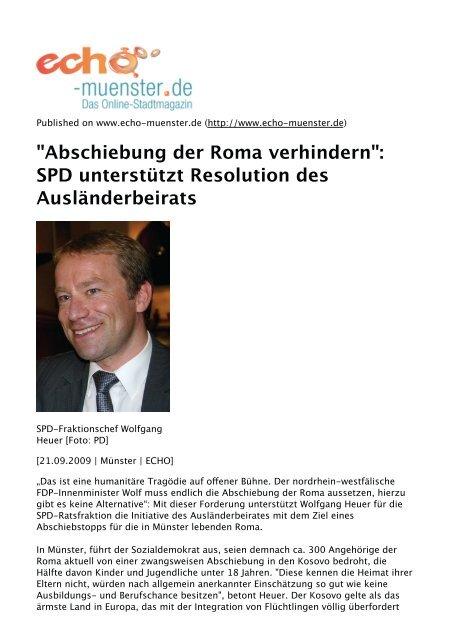 SPD unterstützt Resolution des Ausländerbeirats - Aktion 302