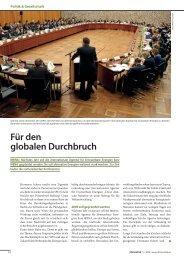 Für den globalen Durchbruch - Hermann Scheer