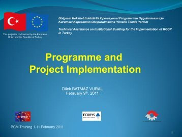 Project Management - IPA