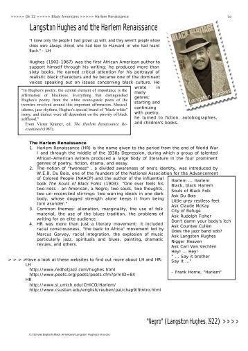 essay salvation langston Free sample literature essay on salvation, langston hughes.
