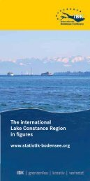The international Lake Constance Region in figures