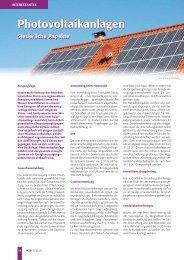 Photovoltaikanlagen - geringe Auflösung - Koch & Kollegen ...