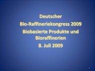 Bio-based Products - biorefinica