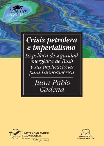 Crisis petrolera e imperialismo - Repositorio UASB-Digital