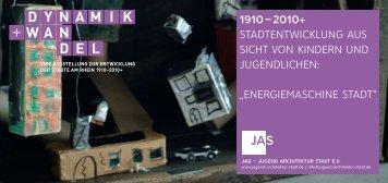 energiemaSchine Stadt - Jugend Architektur Stadt e.V.
