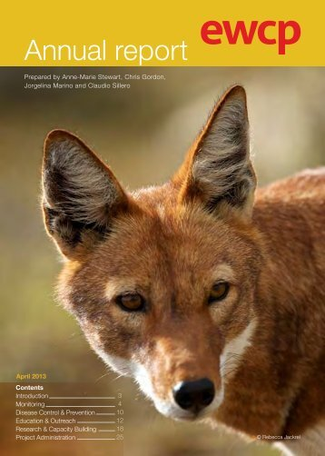 Annual report - Ethiopian Wolf Conservation Programme