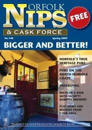Norfolk Nips - Norwich and Norfolk CAMRA