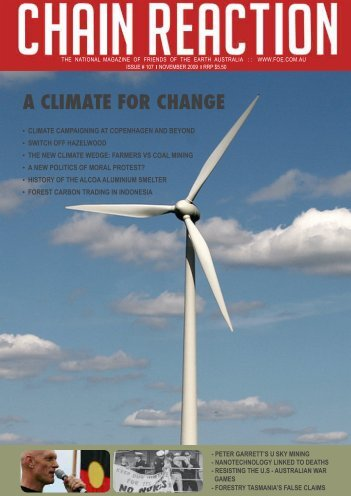 A CLIMATE FOR CHANGE - Friends of the Earth Australia