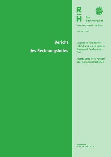 Bericht des Rechnungshofes - Liste Fritz