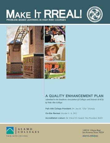 QEP Final Report - Alamo Colleges