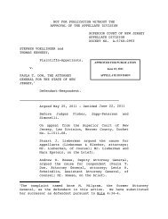 Voellinger v. Dow - Appellate Law NJ Blog