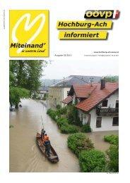 Ausgabe 02/2013 - ÖVP Hochburg-Ach