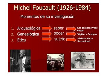 Michel Foucault (1926-1984) - Hecho Histórico
