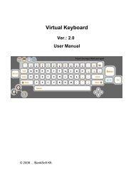 Virtual Keyboard user manual - WES EBERT SYSTEME ...