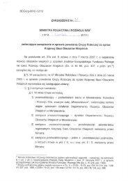Zarządzenie Nr 32 Ministra Rolnictwa i Rozwoju Wsi z dnia ... - KSOW