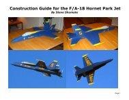 F-18 Park Jet Construction Guide Rev A - Poids-plume-rc