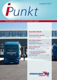 i-punkt 01/2011 - Grieshaber Logistik AG