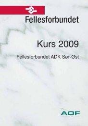 Montert ADK-kurs 2009:Layout 1 - Fellesforbundet