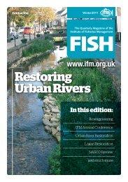 Restoring Urban Rivers - Institute of Fisheries Management
