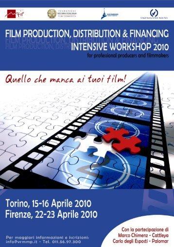Scarica il programma dettagliato del workshop - Mediateca Toscana