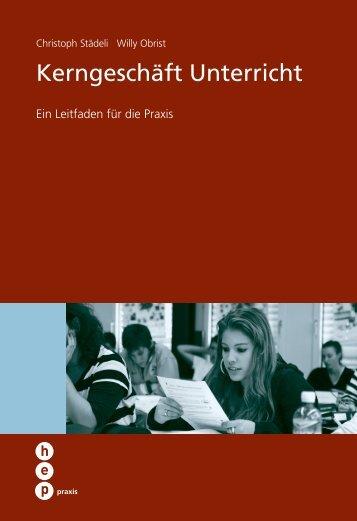 Kerngeschäft Unterricht - h.e.p. verlag ag, Bern