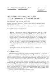 The Two Mini-lobes of the CSO OQ208 — VLBI Observations at 5 ...
