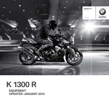 K 1300 R - BMW Motorrad