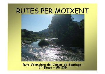 Ruta Valenciana del Camino de Santiago \(1ª Etapa\) - GR ... - Moixent