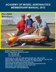 Membership Manual - Spirits of St. Louis R/C Flying Club