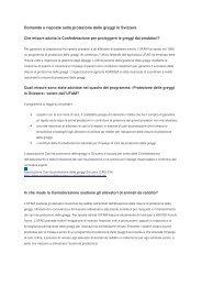 Domande e risposte sulla protezione delle greggi in ... - Herdenschutz
