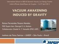Quantum Vacuum - QED2012