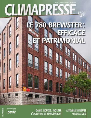 le 780 brewster : eFFicace et patrimonial - CETAF